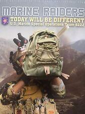 Soldier historia Marine Raiders EE. UU. MSOT 8222 Asalto Mochila Suelto Escala 1/6th
