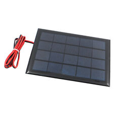 Mini Power Solar Panel Small Cell Phone Charger With Cable Wire DIY 5V 500mA