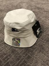 New Starter Hiphop Bucket Hat Cap White Mens Size Large