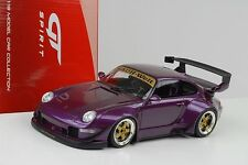 1 18 GT Spirit Porsche 911 (993) Rwb Purple-metallic