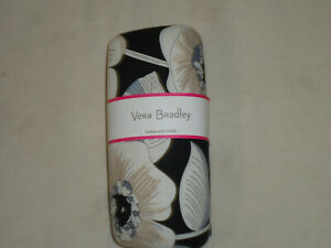 Vera Bradley large multi colored large eyeglass case NEW Camellia