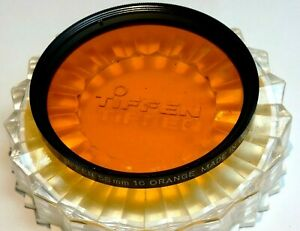 Tiffen Orange 16 58mm Filter threaded screw in type made in USA