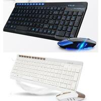 Wireless 2.4GHz Gaming Keyboard & Mouse Combo Set Kit For PC Laptop Desktop Lot
