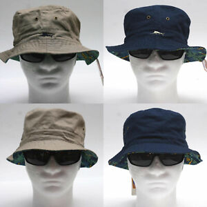 Tommy Bahama bucket hat Color Brown or Navy Tommy Bahama embroidery cotton