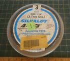 3 Troy Oz Silvaloy . Brazing Alloy S6545, A-18, A-45, 45% Scrap Silver, 93 Grams