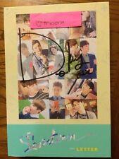 Seventeen 1st Full Album Letter Version Signed By DK Authentic Mwave KPOP