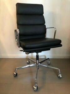 Vitra Alu Chair EA 219 Softpad Leder  Charles & Ray Eames neuwertiger Zustand