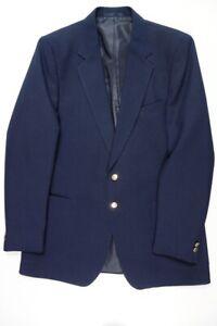 Marks & Spencer Navy Blue Blazer 42L 42 long Single Breasted Preloved.