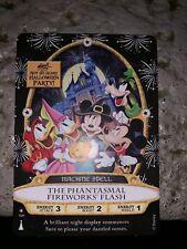 2019 Disney Halloween Party Sorcerers Card The Phantasmal Fireworks Flash 15P NM
