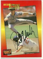 1992 Triple Play PAT KELLY Signed Card autograph YANKEES