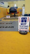 Mot garage For Sale In LEEDS Class 4 and class 7 mot bay and repair centre.