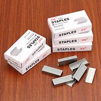 Staples Silver Steel Staples For Office Stapler—1000PCS/Box No.12 24/6
