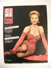 Ciné Rivista No.15 Avril 1956 Mitzi Gaynor Ursula Andress Robert Taylor