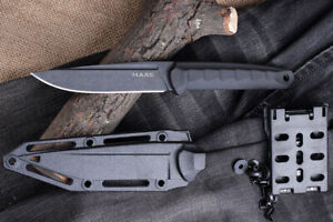 Russian Survival Outdoor Tactical Knife - M.A.R.S. Stealth - Kizlyar