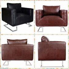 Chrome Leather Sofas & Couches