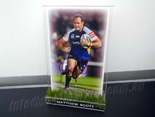 ✺Signed✺ MATTHEW SCOTT Photo & Frame North Queensland Cowboys NRL 2018 Jersey