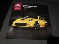 2018 NISSAN 370Z Coupe & Roadster 20-page Original Sales Brochure