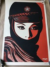 Shepard Fairey Obey Giant Mujer Fatale Signed Offset Poster Art Print