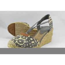 Zapatos de tacón de mujer plataformas Ralph Lauren de lona