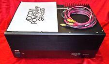 Adcom GFA555 Audiophile power amplifier Nelson Pass Walt Morrey design