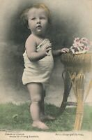 VINTAGE HERE'S a CHANCE BABY POSTCARD Series 24 Young Aust, by Kerry of Sydney