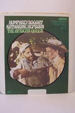 The African Queen Humphrey Bogart Katharine Hepburn CED Selectavision Video Disc