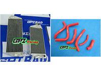 aluminum Radiator &RE HOSE Suzuki RMZ250 RMZ 250 2013 13-2015 2016 2014 14 15*