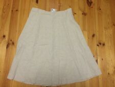 NWT Target  Linen Natural Colour Skirt Size 20 (originally $40)