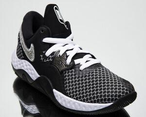 Nike Renew Elevate II Men's Black White Grey Athletic Basketball Sneakers Shoes
