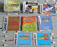 39 X Nintendo Game Boy/Advance/Color Manuals Zelda Mario Pokemon Etc.  7 IMAGES