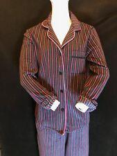 BNWT DKNY Women's  Soft Fleece Notch Pyjama Set Size XS 8/10 Gift Idea