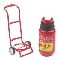 1:12 Dollhouse Miniature Handcart Fire extinguisher Kitchen Accessories YK
