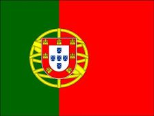 A4 PORTUGUESE / PORTUGAL NATIONAL FLAG CAKE TOPPERS DECORATIONS ON RICE PAPER