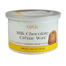 2 x  GiGi Milk Chocolate Creme Wax 14oz