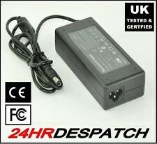 UK Certified Laptop Charger for TOSHIBA QOSMIO E10 E15 F10 F15 F20 F25