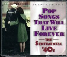 POP Songs That Will Live Forever - The Sentimental 40's - Reader's Digest Music