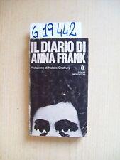 IL DIARIO DI ANNA FRANK - MONDADORI - 1972