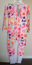 Baby Girls Bonds Wondersuit Textured Floral Design Size 0000