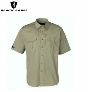 New Browning Black Label Tactical Short Sleeve Shirt, Sand