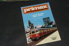 Alter Primex Märklin Katalog 1987