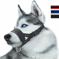 Nylon Dog Muzzle For Large Dogs Prevent From Biting,Barking And Chewing