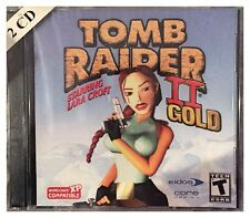 Tomb Raider II 2 Gold PC Brand New Factory Sealed Nice Win10 8 7 XP