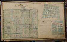 Iowa, Jasper County Map, DesMoines Township, C. 1901, Dbl. pg.  K10#54
