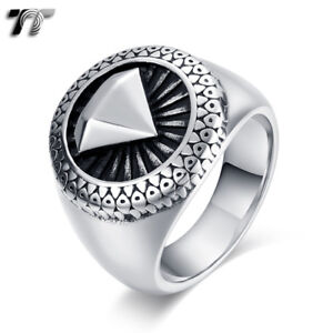 High Quality TTstyle 316L Stainless Steel Ring Size 7-13 (RZ175) NEW