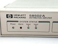 Agilent HP Keysight  58502A Distribution Amplifier