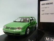 WOW EXTREMELY RARE VW Golf IV 4 GTi 1.8 20V Turbo 1997 Green 1:43 Minichamps-R32