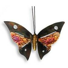 Recycled Metal Butterfly Wall Hanging - Handmade in Mexico - Fair Trade
