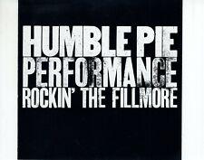 CDHUMBLE PIEperformance rockin the fillmoreUS EX+  (R3040)