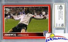 2005 Topps England Japan #100 David Beckham+GU ENGLAND SHORTS Beckett 10 MT GGUM