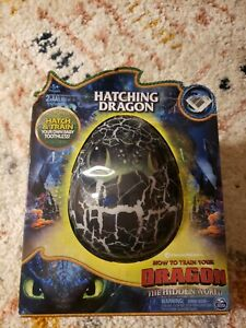 NEW How To Train Your Dragon Hidden World Toothless Hatching Egg Interactive Toy
